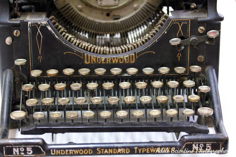 Underwood #5 ~ 1900's
