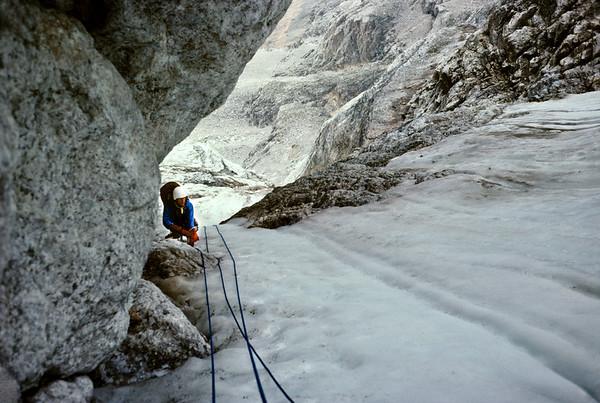 Black Ice Couloir, Grand Teton