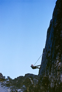 Nicolai took this shot of me rappelling off