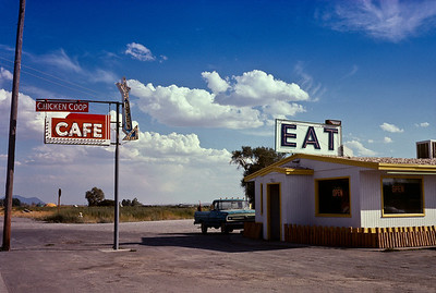 This is the first photo of a photo book of 'Eat' signs across rural America that I was planning to do. The operative word is 'planning'.