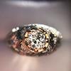 0.94ctw Vintage Old European Cut Diamond Dome Ring 8