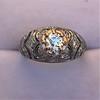 0.94ctw Vintage Old European Cut Diamond Dome Ring 15