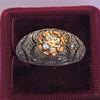 0.94ctw Vintage Old European Cut Diamond Dome Ring 17