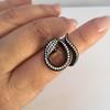 1.00ctw Diamond Serpent Ring 11
