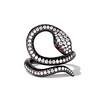 1.00ctw Diamond Serpent Ring 1