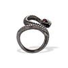 1.00ctw Diamond Serpent Ring 3
