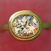 1.15ct Antique Oval Cut Diamond Chunky Bezel Ring 2