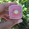 1.15ct Antique Oval Cut Diamond Chunky Bezel Ring 14