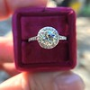 1.19ctw Old European Cut Diamond Halo Ring by A Jaffe 17