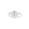 1.19ctw Old European Cut Diamond Halo Ring by A Jaffe 0