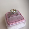 1.19ctw Old European Cut Diamond Halo Ring by A Jaffe 20