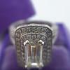 1.85ctw Emerald Cut Diamond Halo Ring 20