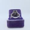 1.85ctw Emerald Cut Diamond Halo Ring 14