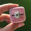 1.85ctw Emerald Cut Diamond Halo Ring 11