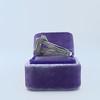 1.85ctw Emerald Cut Diamond Halo Ring 13