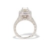 1.85ctw Emerald Cut Diamond Halo Ring 3