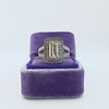 1.85ctw Emerald Cut Diamond Halo Ring 6