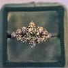 1.29ctw Old European Cut Diamond Fancy Ring 13