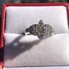 1.29ctw Old European Cut Diamond Fancy Ring 20
