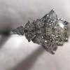 1.29ctw Old European Cut Diamond Fancy Ring 17