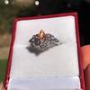 1.29ctw Old European Cut Diamond Fancy Ring 18