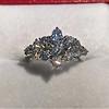 1.29ctw Old European Cut Diamond Fancy Ring 7