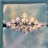 1.29ctw White Gold Fancy Engagement Ring