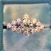 1.29ctw Old European Cut Diamond Fancy Ring 10