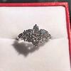 1.29ctw Old European Cut Diamond Fancy Ring 24