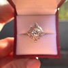 1.32ctw Old European Cut Diamond Floral Halo Ring 49