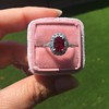 1.52ct Ruby Halo Ring, GIA No Heat 24