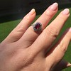 1.52ct Ruby Halo Ring, GIA No Heat 9