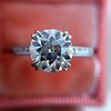 1.72ct Old European Cut Diamond Solitaire, AGS K VS1 13