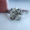 1.72ct Old European Cut Diamond Solitaire, AGS K VS1 9