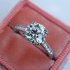 1.72ct Old European Cut Diamond Solitaire, AGS K VS1 8