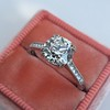 1.72ct Old European Cut Diamond Solitaire, AGS K VS1 5