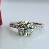 1.72ct Old European Cut Diamond Solitaire, AGS K VS1 6