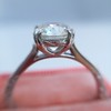 1.72ct Old European Cut Diamond Solitaire, AGS K VS1 3