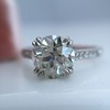 1.72ct Old European Cut Diamond Solitaire, AGS K VS1 10