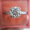 1.72ct Old European Cut Diamond Solitaire, AGS K VS1 17