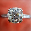 1.72ct Old European Cut Diamond Solitaire, AGS K VS1 14