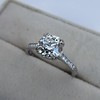 1.72ct Old European Cut Diamond Solitaire, AGS K VS1 22