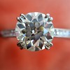 1.72ct Old European Cut Diamond Solitaire, AGS K VS1 16