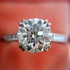 1.72ct Old European Cut Diamond Solitaire, AGS K VS1 15