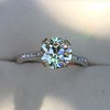 1.72ct Old European Cut Diamond Solitaire, AGS K VS1 1