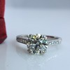 1.72ct Old European Cut Diamond Solitaire, AGS K VS1 21
