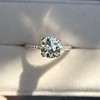 1.72ct Old European Cut Diamond Solitaire, AGS K VS1 18