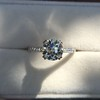 1.72ct Old European Cut Diamond Solitaire, AGS K VS1 19