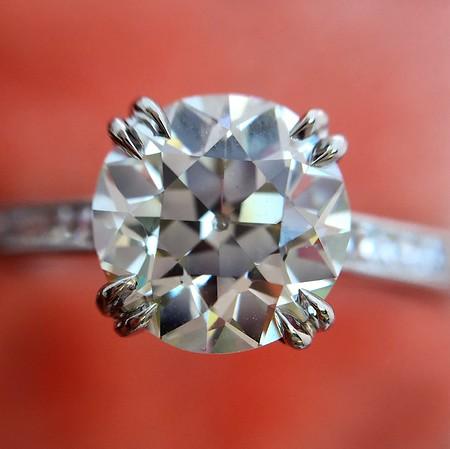 1.72ct Old European Cut Diamond, AGS K VS1