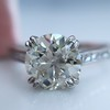 1.72ct Old European Cut Diamond Solitaire, AGS K VS1 2